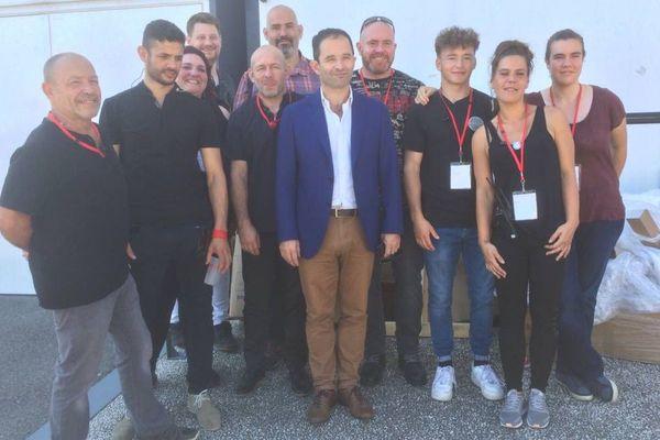 Le mouvement Génération.s, fondé par Benoît Hamon, tient sa première convention du samedi 30 juin au dimanche 1er juillet 2018 au Summum de Grenoble, en Isère.