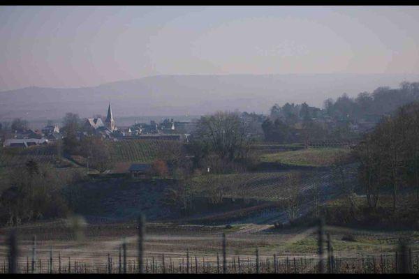 Rilly-la-Montagne, décor d'un film documentaire pendant 3 jours