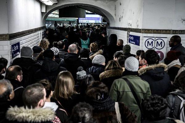 Les transports sont toujours perturbés en Ile-de-France (Image d'illustration)