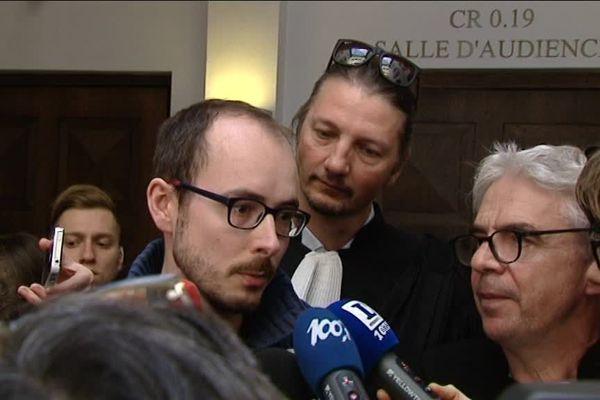 Le vosgien Antoine Delcourt (image d'archive FTV).