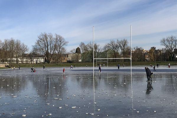 Le froid et la glace font le bonheur des patineurs
