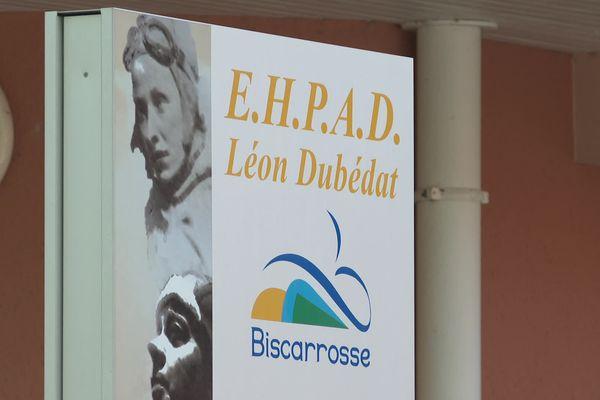 EHPAD Léon Dubédat à Biscarrosse où des cas atypiques de Covid ont été décelés