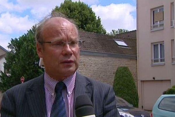 Pierre Pribetich, 1er vice-président du Grand Dijon et adjoint au maire délégué à l'urbanisme et au PLU