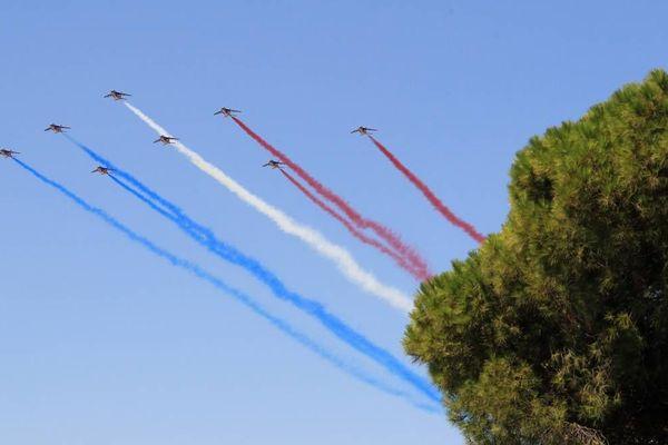La patrouille de France fera son show au-dessus de la vallée du Grésivaudan ce samedi à 17h30 à l'occasion de la 45è édition de la Coupe Icare