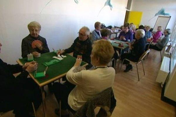 Les activités des seniors lors des après midi organisés par le ORRPA (Office Rémois des Retraités et des Personnes Agées)