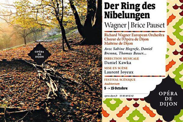 L'opéra de Dijon donne l'intégralité du Ring de Wagner du 5 au 15 octobre 2013.