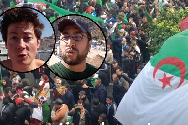 Nos jeunes reporters des Haut-Parleurs vont à la rencontre de la jeunesse issue de la diaspora algérienne qui suit de près les changements politiques en Algérie