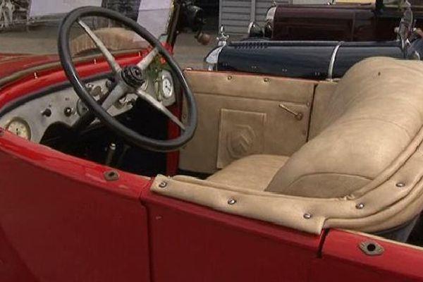 L'une des automobiles passées entre les mains du maroquinier