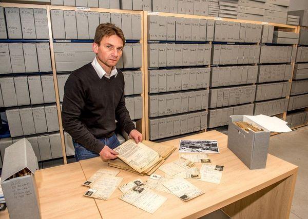 Laurent Thiery et les archives des déportés de Dora.