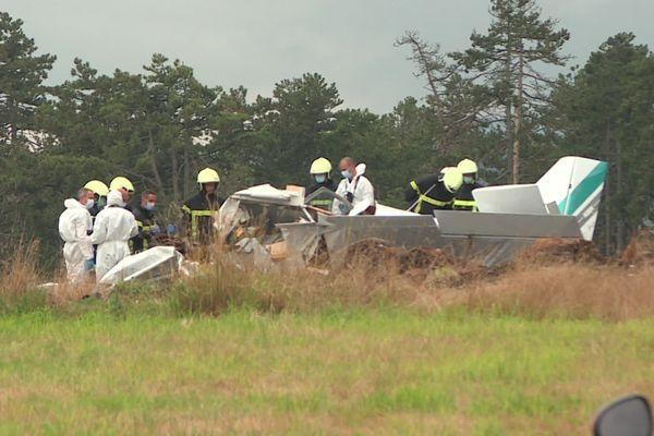 Trois personnes ont été tuées dans le crash d'un avion de tourisme à Darois (Côte-d'Or) ce vendredi 10 septembre 2021.