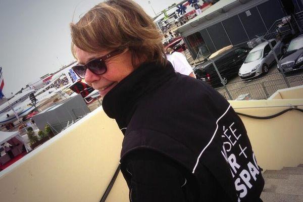 Catherine Maunoury, directrice du Musée de l'Air et de l'Espace et double championne du monde de voltige.