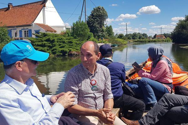 Une délégation de 120 personnes du monde entier dans les marais de saint-Omer