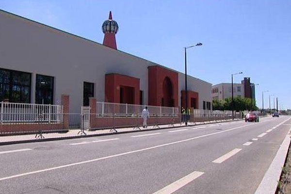 La mosquée de Caucriauville ouverte le 18 juin 2015.