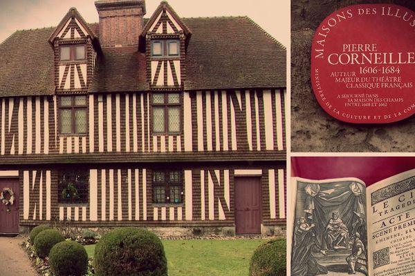 C'est dans cette maison que Pierre Corneille aurait rédigé une partie du Cid, publié en 1637.