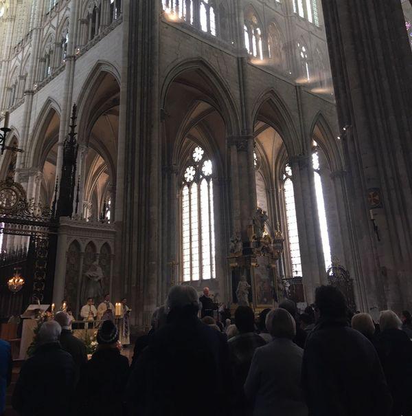 Dernière messe de l'année à la cathédrale d'Amiens, ce dimanche 29 décembre.