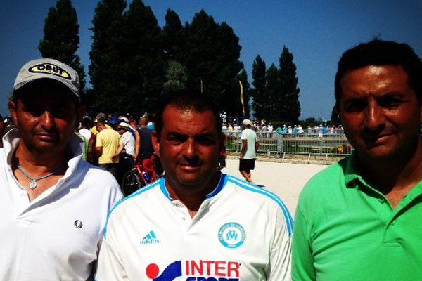 Les trois frères Molinas.