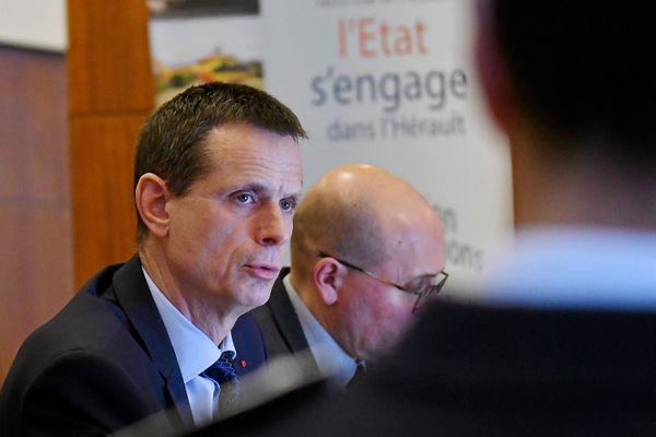 Montpellier - Jacques Witkowski, préfet de l'Hérault - archives.