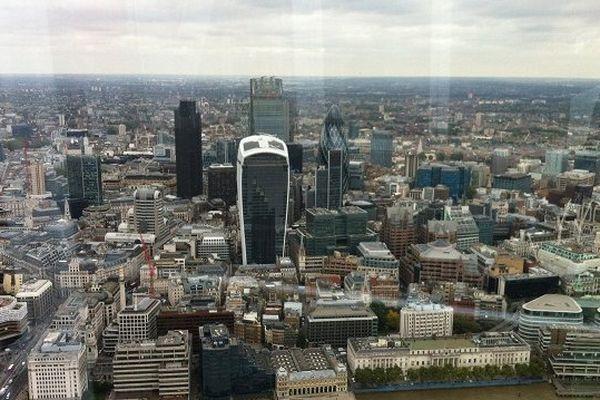Du haut de la Shard Tower, au bord de la Tamise, les chefs d'entreprise ont la City londonienne à leurs pieds.