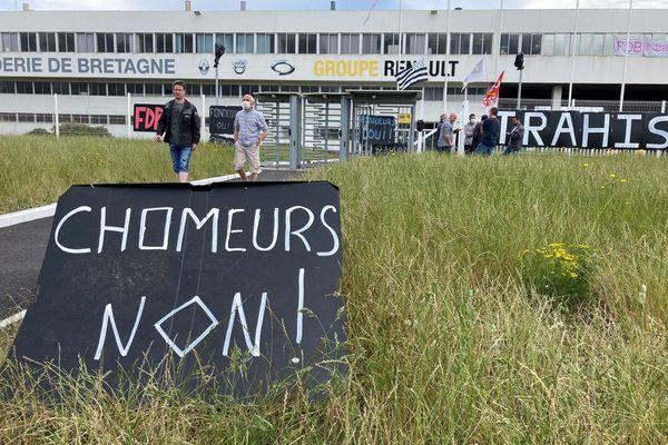 Site de la fonderie de Bretagne en juin 2021.
