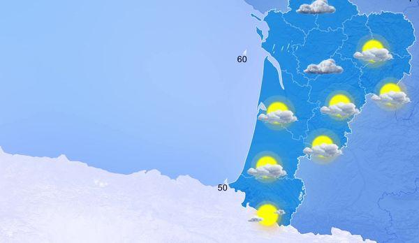 Quelques gouttes de pluies des Charentes au Poitou...