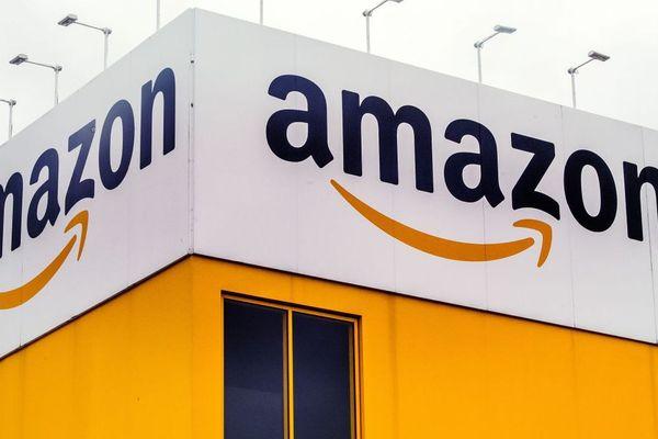La plate-forme d'Amazon à Lauwin-Planque, près de Douai.