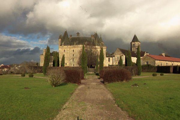 Le château de l'alchimiste à Jumilhac le Grand