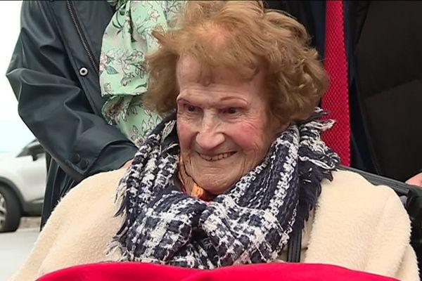 Maryse Luciani ne connaissait que la Méditerranée. A 111 ans, elle a réalisé son rêve !
