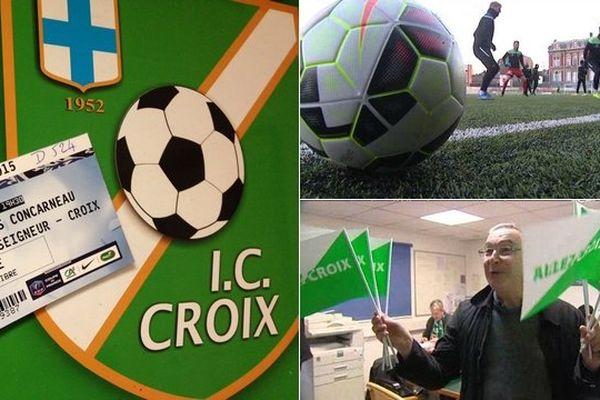 L'Iris Club Croix croit en ses chances de jouer un quart de finale de Coupe de France.
