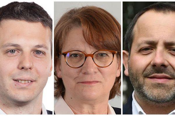 Loïc Kervan, Nadia Essayan et François Cormier-Bouligeon, sont élus députés dans le département du Cher.