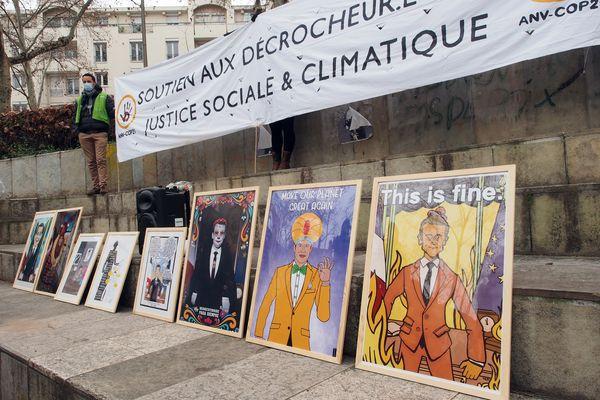 """""""C'est alarmant que ce soient ceux qui dénoncent  l'inaction du gouvernement qui soient condamnés. Nous faisons appel de cette décision pour clamer notre volonté de justice climatique et sociale !""""  Tatiana Guille, porte-parole Alternatiba ANV Rhône."""
