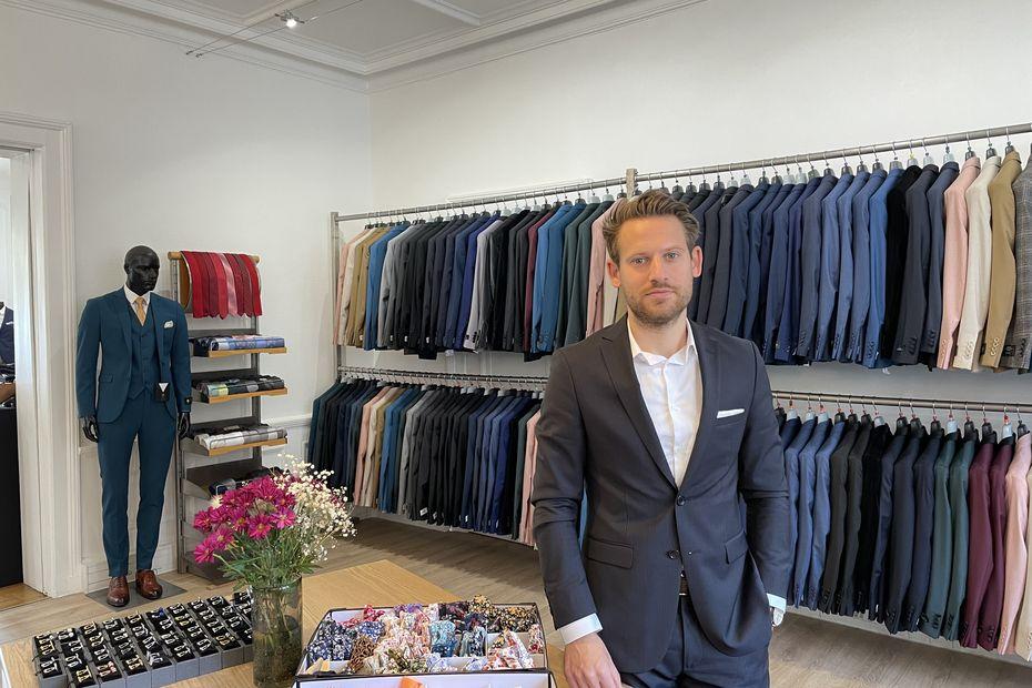Strasbourg : il passe d'apprenti à patron d'un magasin de costumes haut de gamme