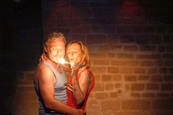 Sandie MASSON et Eric Savin à l'affiche de Fleur de Peau