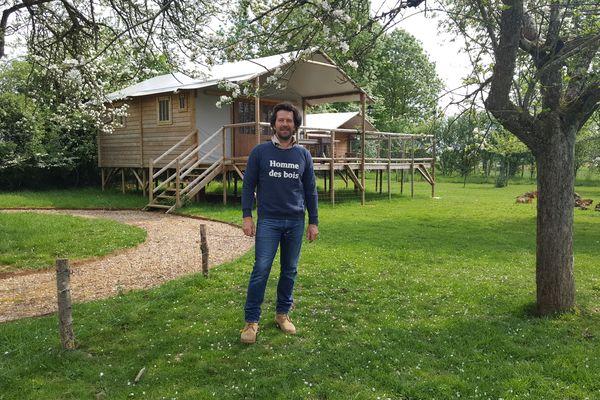 Attirer la clientèle parisienne et son besoin de nature, c'es le pari d'Arnaud Doin, créateur du Country Lodge.