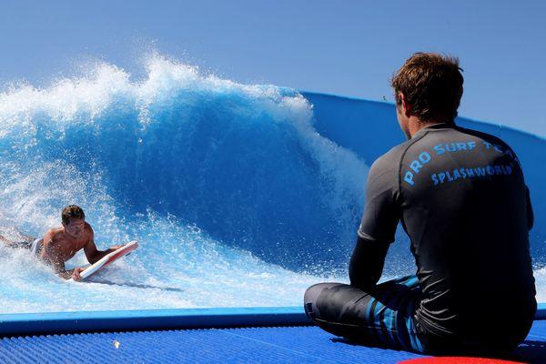 """Le Splashworld de Monteux officialisera prochainement son nouveau nom """"Wave Island""""."""