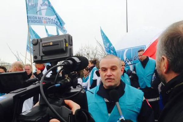 Les pompiers du Val d'Oise sont en grève ce jeudi