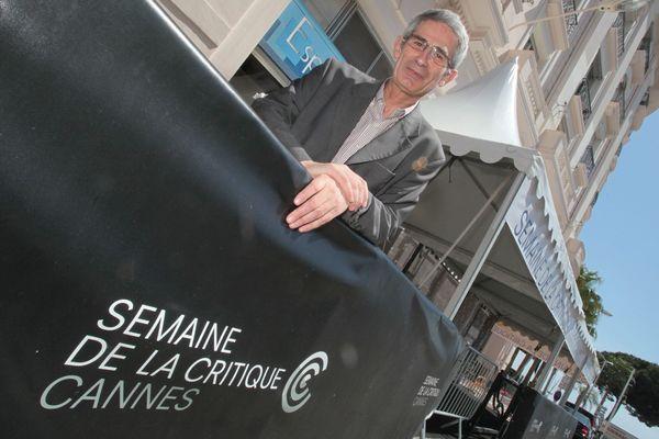 Charles Tesson, Délégué Général, de la sélection de la semaine de la critique au Festival de Cannes.