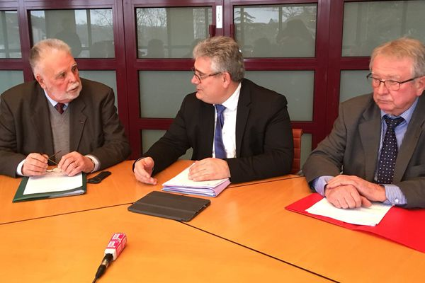 Robert Savy, Pascal Coste et Jean-Claude Peyronnet