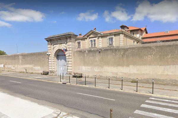 Carcassonne - la prison - archives.