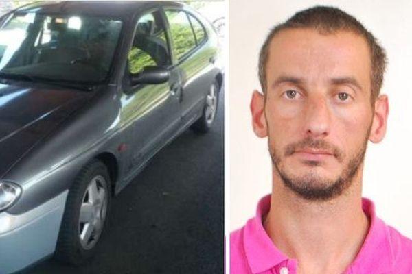 La voiture de Cédric Mahieu a été retrouvée mercredi 25 mai.