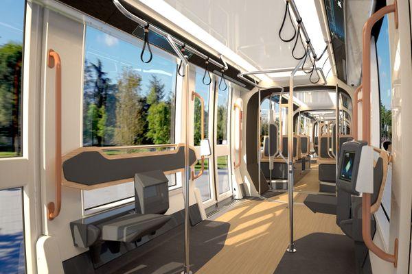 """Un """"voyage respirant"""" voulu par l'agence de design RCP pour le nouveau tramway de Nantes"""