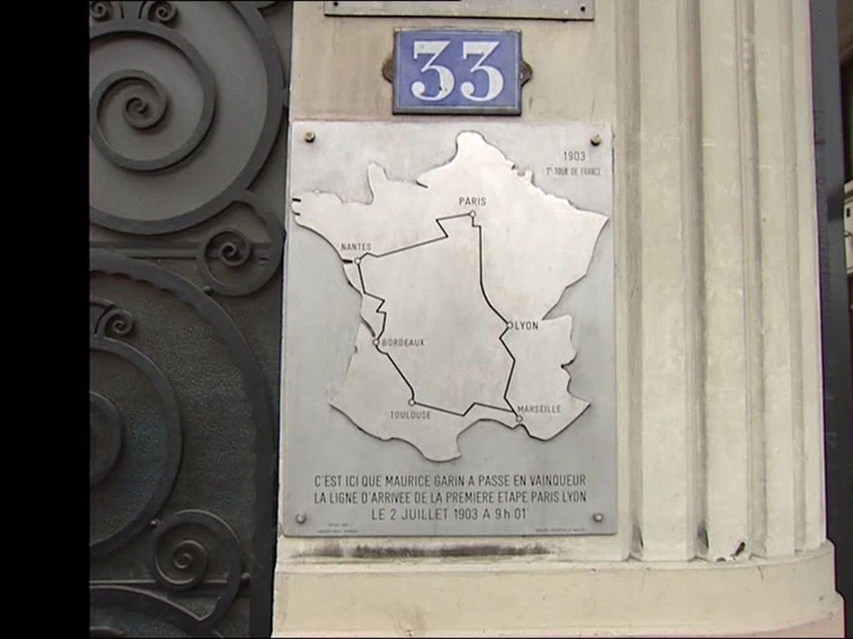 Il Etait Une Fois Le Tour De France La Premiere Arrivee A Lyon En 1903