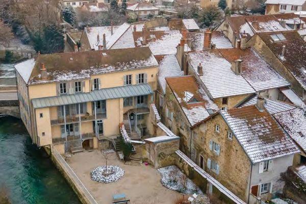 Cette maison était la maison de vacances de Louis Pasteur.