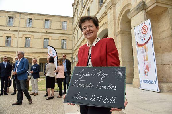La cité scolaire Françoise Combes, rebaptisée en septembre en présence l'astrophysicienne montpelliéraine.