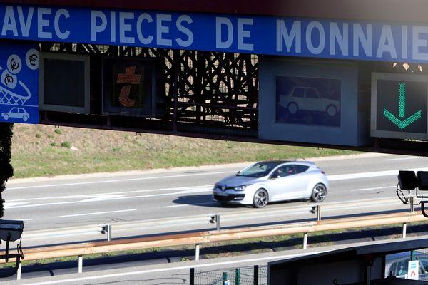 Péage sur l'autoroute A8 (Archives)
