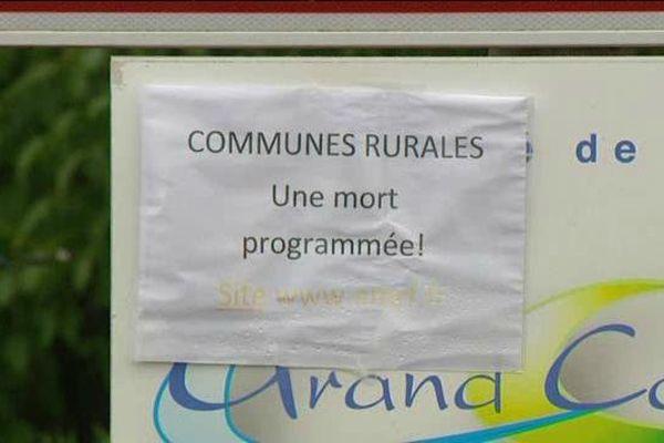 Des communes rurales protestent contre les contraintes qui pourraient leur être imposées
