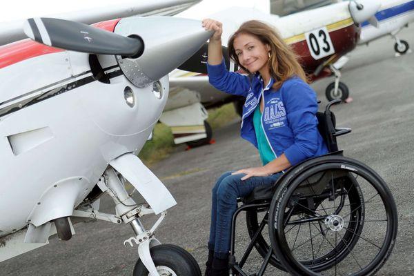 Dorine Bourneton, l'aventurière de la voltige aérienne