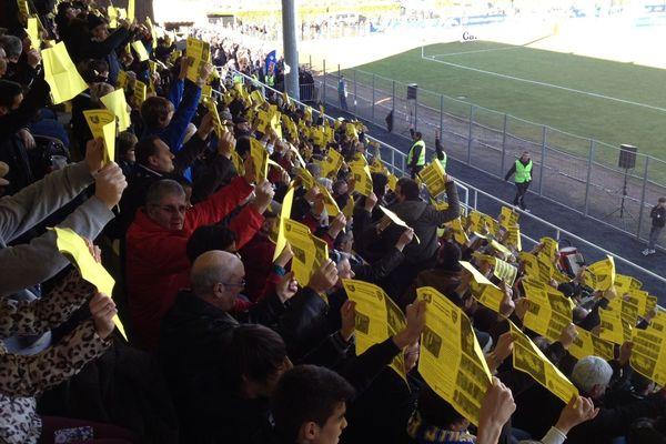 Un stade Delmas entièrement acquis aux footballeurs de Mende