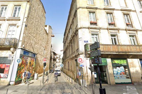 Le cours Victor Hugo et la rue Buhan, deux rues très passantes à Bordeaux