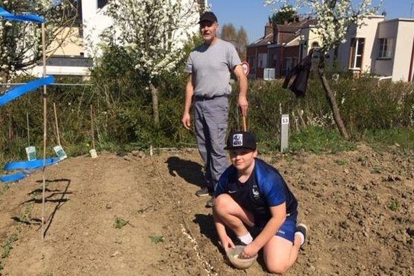 Rudy et Gaëtan Rosner retrouvent leur jardin