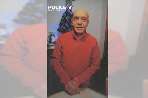 Roger Ballage, disparu depuis le 17 février à Limoges.